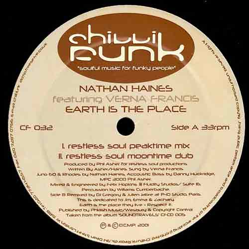 "Nathan Haines : ""Earth is the Place"" (restless soul)"